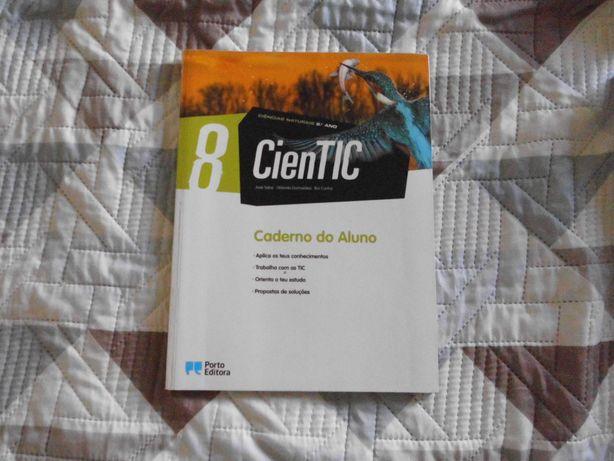 """Caderno de atividades de ciências """"CienTIC"""" 8 ano"""