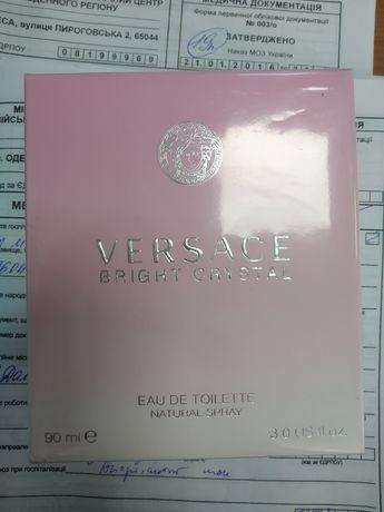 Туалетная вода Versace Bright Crystal Италия оригинал женские духи