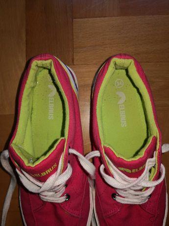 Buty dziewczęce na gimnastykę rozm. 34
