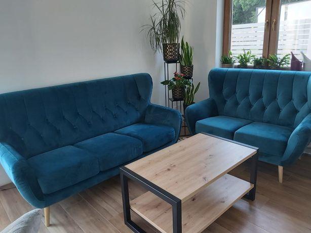 Dwa razy sofa 2 i 3 - osobowa KELSO Agata Meble
