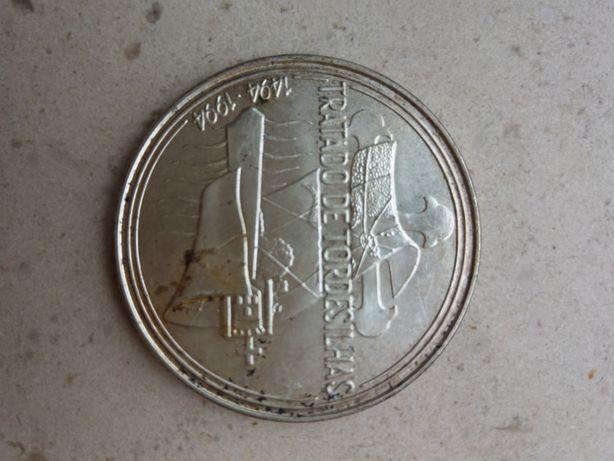 Moeda 1.000 escudos Tratado de Tordesilhas