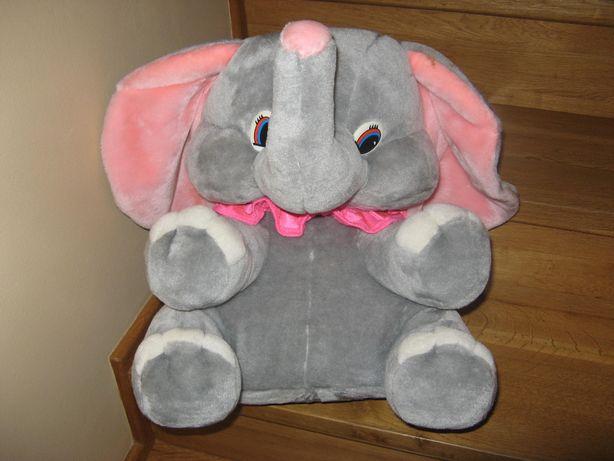 zabawka słoń pluszowy
