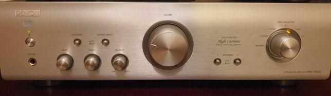 Wzmacniacz stereo Denon PMA-720A Srebrny + pilot - (Jak nowy)