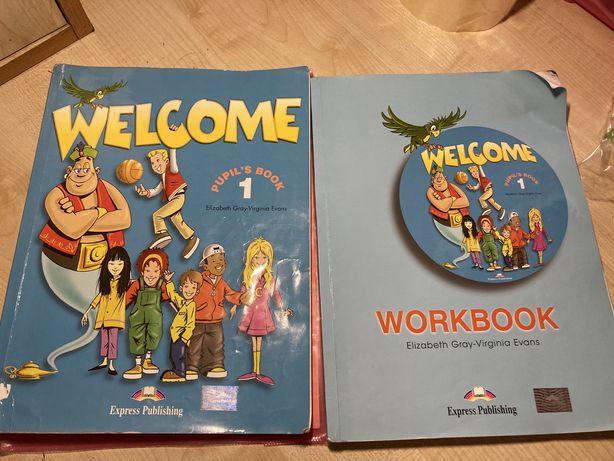 Welcome 1 книга и тетрадь