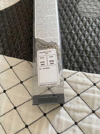 Estore de rolo opaco 144x250 - cinza