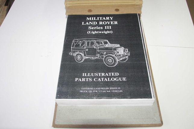 Manual Peças Land Rover Serie 3 III militar