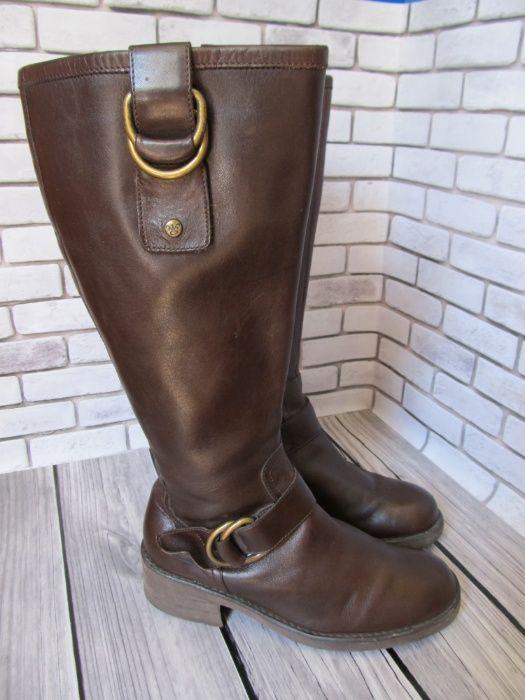 Кожаные сапоги Clarks, размер 39 Харьков - изображение 1