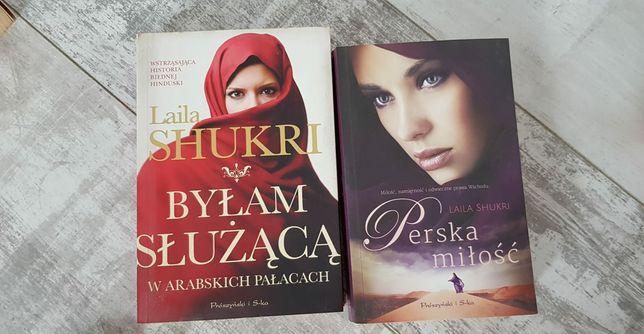 Laila Shukri- 2 ksiażki