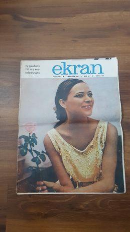 Tygodnik filmowo-telewizyjny Ekran * nr 36 * 3 września 1967 ***