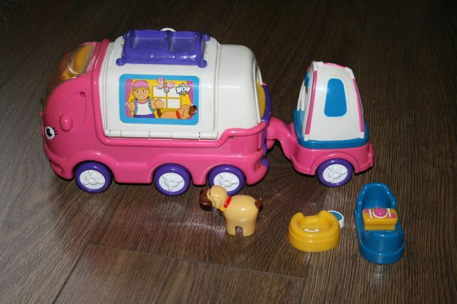 autobus kamper sam jeździ super zabawka hit