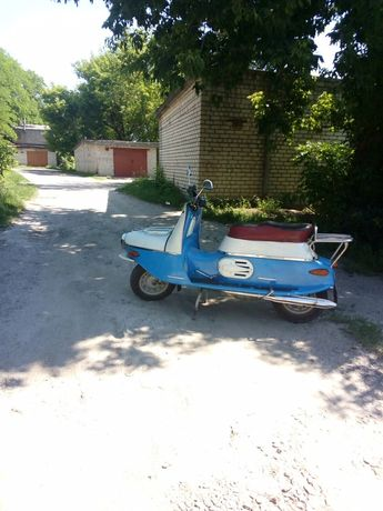 Мотороллер Чезета 502