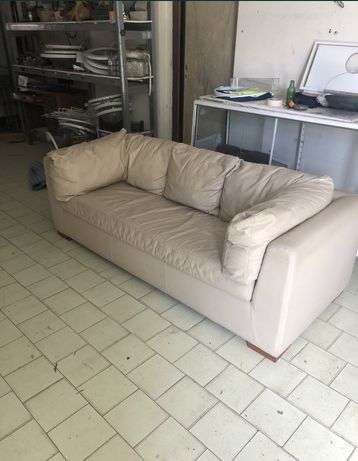 Sofa cama beje