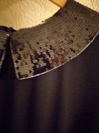 Suknia sukienka rozm 48/50 /52szykowna i elegancka wizytowa wieczorowa