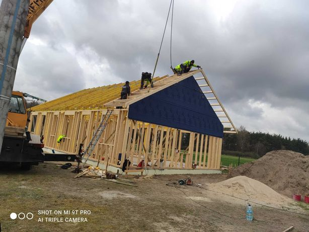 Budowa Domów Drewnianych w technologi szkieletowej