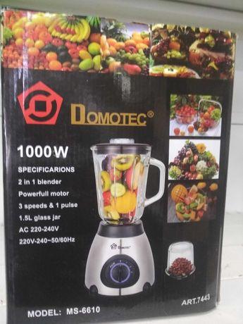 Стационарный блендер измельчитель с кофемолкой Domotec MS-6610 1000W