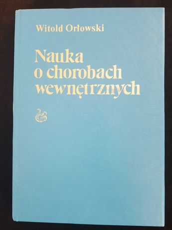 """Książki """"Nauka o chorobach wewnętrznych"""" komplet 7 tomów"""