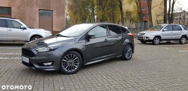 Ford Focus ST LINE 1,5 ECOBOOST 150KM (z ASS) M6 FAKTURA Gwarancja do 2022r
