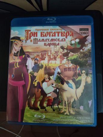 Blu-ray Disc Три Богатыря и Шамаханская царица