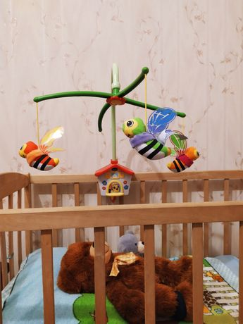 Мобиль chicco пчёлки пчелиный домик
