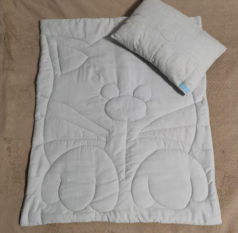 Набор из одеялка и подушки с котиком