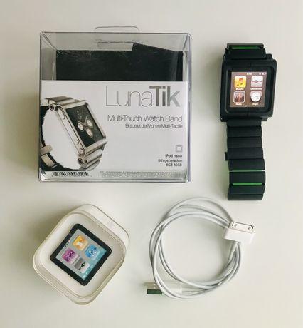 Apple iPod Nano 6 gen. 8GB + bransoleta zegarek watch