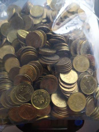 Monety 1 groszowe - 1 kg