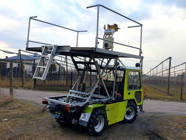 Kramer 4x4 platforma sadownicza samojezdna. Ladog hansa