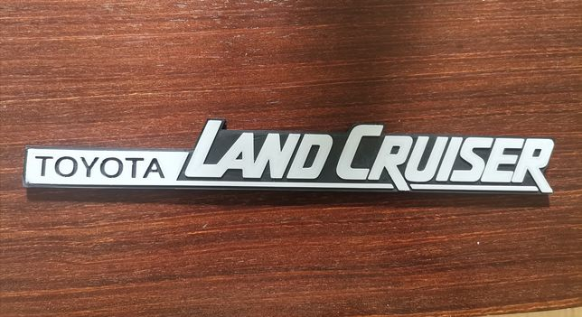 Emblema Toyota land cruiser