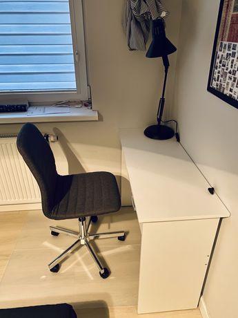 Biurko krzesło biurowe mata ochraniająca jak NOWE