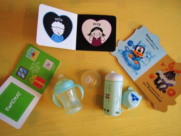 Zestaw książeczek dla Maluszka + gratis dwa kubki niekapki