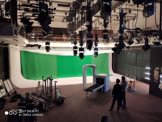 Фотостудия Днепр, кинопавильон, белая циклорама 15м, хромакей
