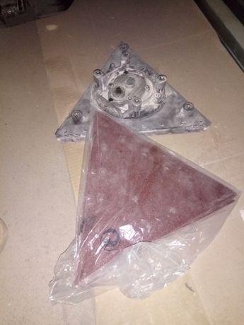 Acessório lixadeira Pladur cantos triangular