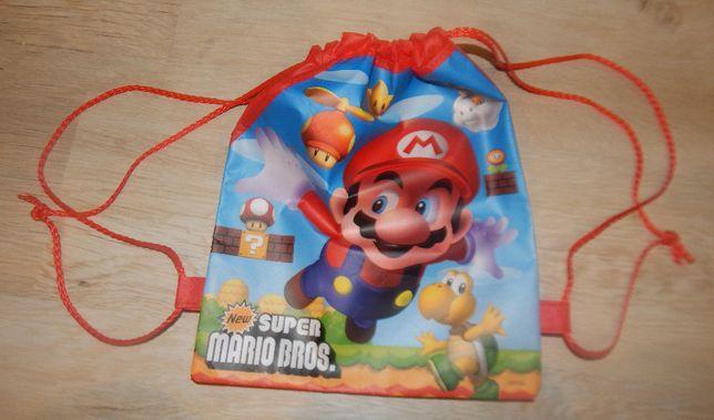 worek na obuwie torba plecak super mario