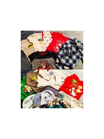 51 sztuk ubrań dla chłopca 68-74