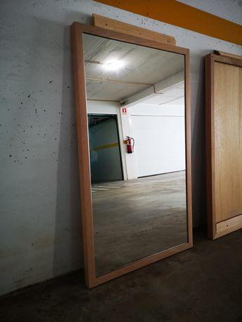 Vende Espelho em Cor Faia/Cerejeira