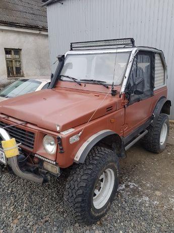 Suzuki Samurai Офроуд