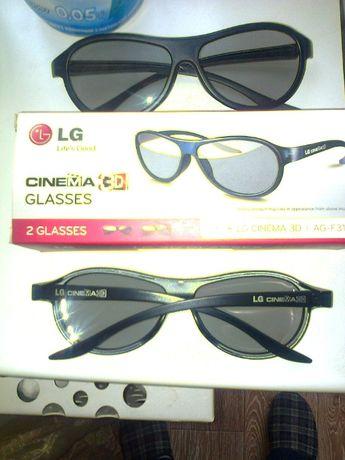 Очки AG-F310 для просмотра в 3D и др.