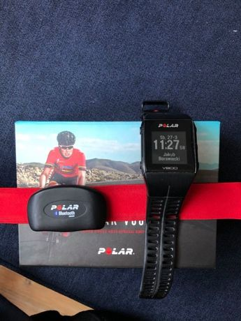 Zegarek sportowy Polar V800 Javier Gomez Nadajnik H7 Sensor kadencji