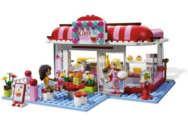 Lego friends 3061 Кафе в городском парке
