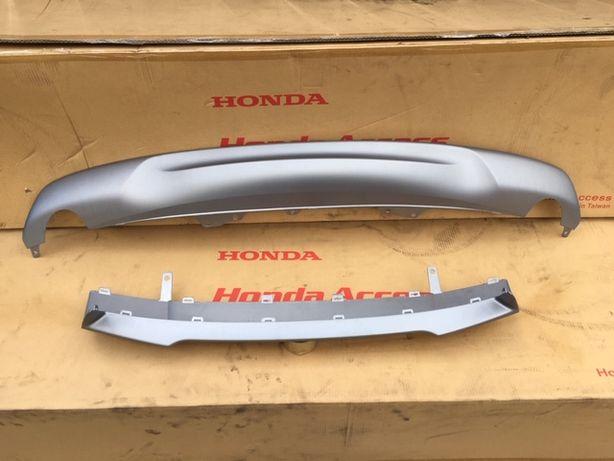 Honda CRV CR-V V 2018- Dokładki Zderzaka Komplet Nowe