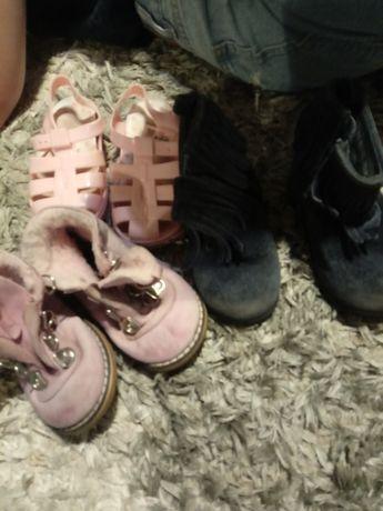 Oddam buciki dziecięce dziewczęce