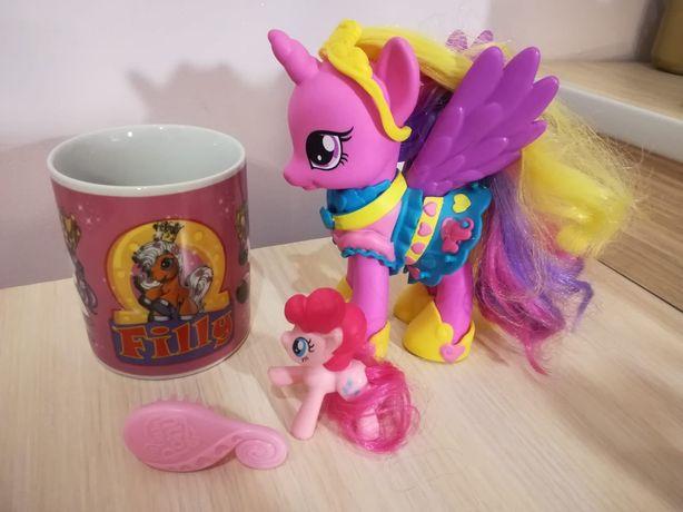 Kubek filly + koniki pony