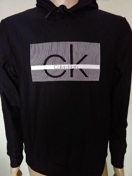 Bluza z kapturem męska Calvin Klein M czarna