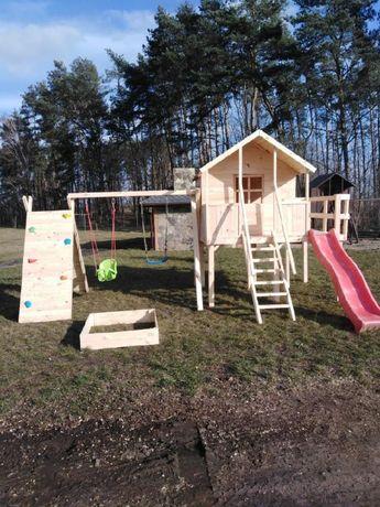 Plac zabaw dla dzieci,Domki,huśtawka . Dostępny ,,Od ręki,,