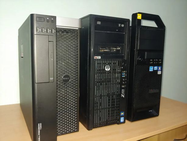 Intel E5-2689 RX 470 DDR5 32gb Игровой Системный блок i7 компьютер ssd