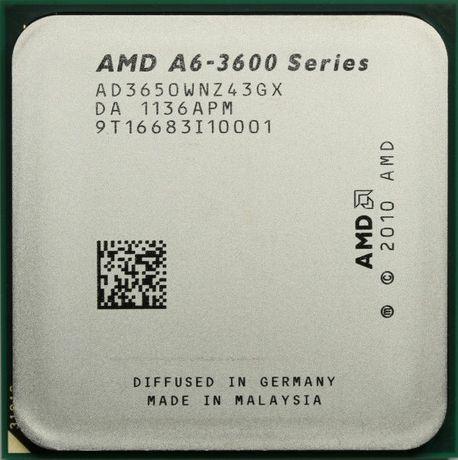 Продам процессор AMD, A6-3650. FM1. 4 ядра.