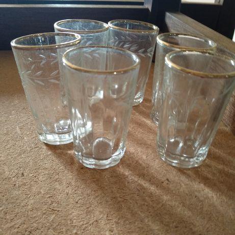 6 copos licor