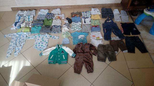 MEGA PAKA ubranka chłopiec do 74rozm.+buty 18-21 rozm.