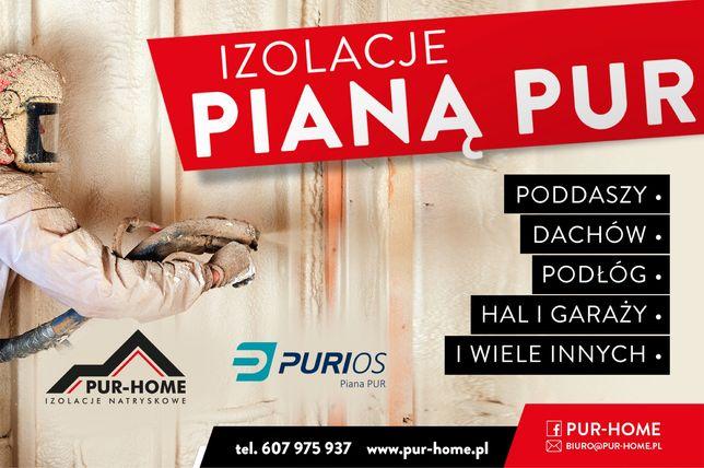 Izolacje Pianą Pur!!!
