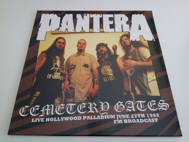 Disco Vinil LP Pantera – Cemetery Gates: Live Hollywood Palladium